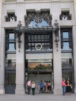 Centrocentro En El Palacio De Cibeles De Madrid