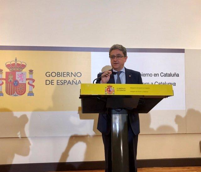Enric Millo, delegado del Gobierno en Catalunya