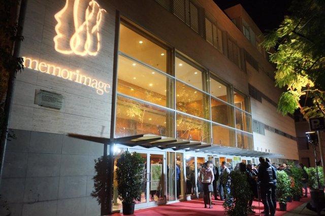 Presentación del Memorimage en el Teatre Bartrina (Reus)