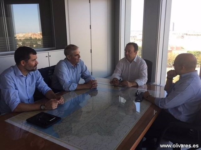 Reunión de los alcaldes con la Junta.