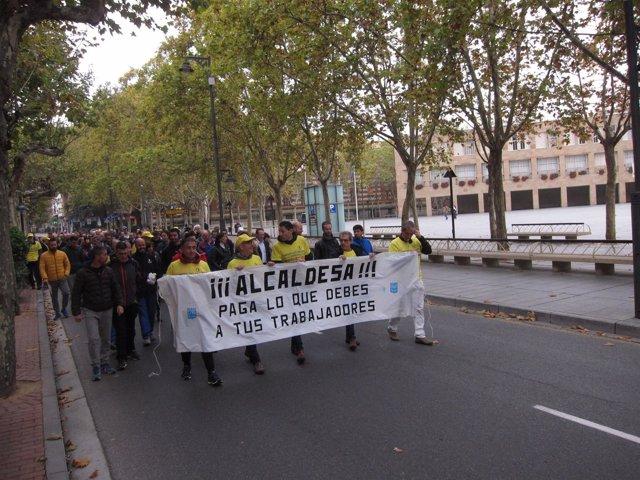 Protesta de la Junta de Personal