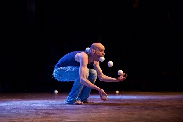 Taller de Stefan Sing, uno de los participantes de 'En la cuerda floja'