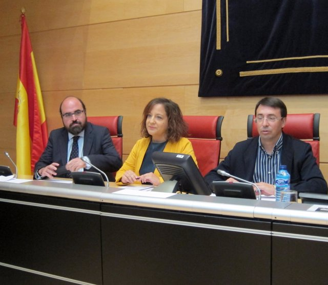 Iratxe García comparece en la Comisión de Empleo de las Cortes