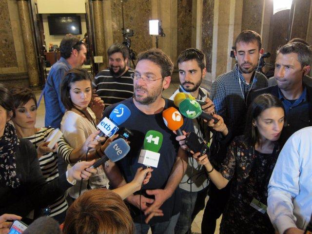 El secretario general de Podem Catalunya, Albano Dante-Fachin