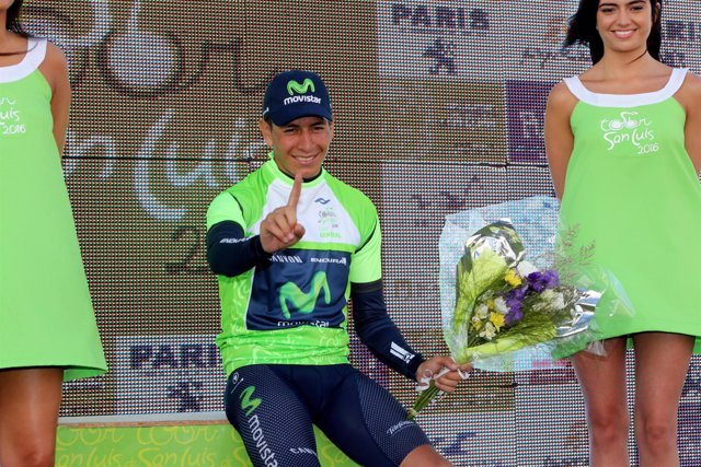 Dayer Quintana Movistar Tour de San Luis