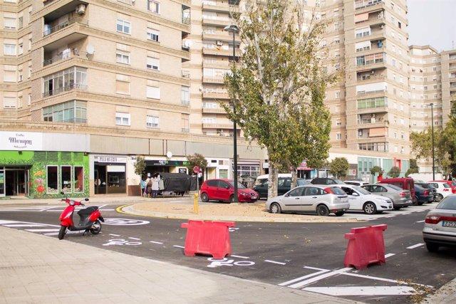 Nuevas plazas de aparcamiento en el Actur, cerca de Kasan