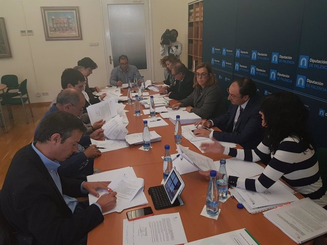 Foto Dipu, Reunión Consejo Administración Consorcio