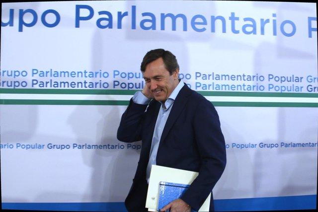 Rafael Hernando, hoy en el Parlamento andaluz