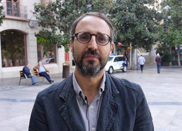 Alberto Matarán, secretario general de Podemos en Granada capital
