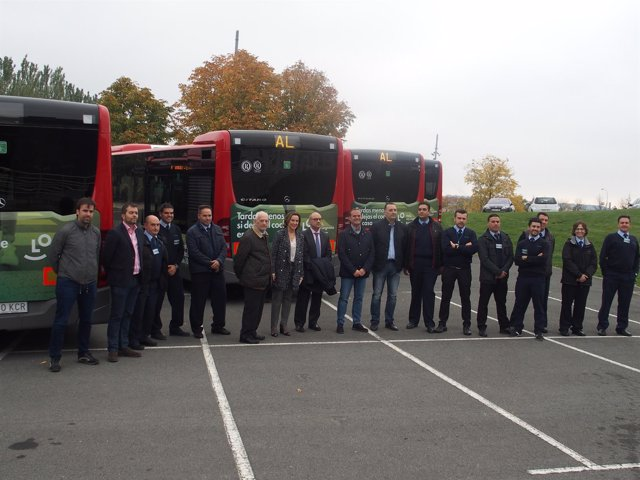 Presentación de los nuevos autobuses