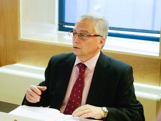 Segundo Menéndez, presidente de la JEC