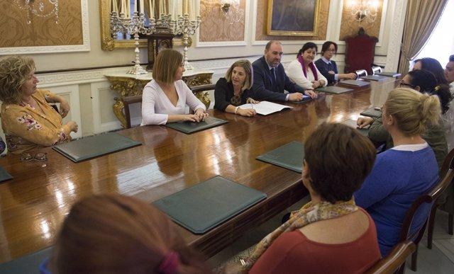 La presidenta de la Diputación de Cádiz, Irene García