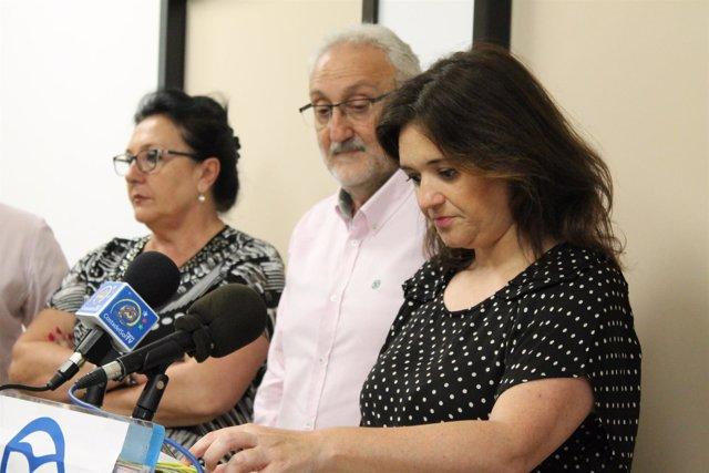 Margarita del Cid, PP Torremolinos en rueda de prensa