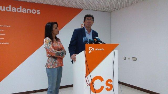 Marta Bosquet y Juan Marín (Cs)