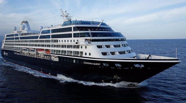 El crucero Quest de la compañía Azamara Club Cruises