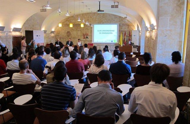 Aula de Grados de la UPSA, donde tendrá lugar la inauguración del encuentro