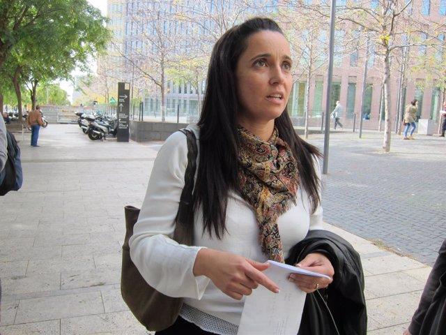 La teniente de alcalde de Presidencia de Pineda, Sìlvia Biosca