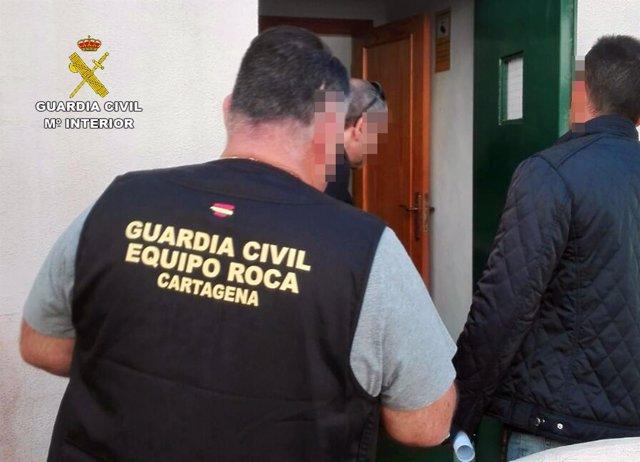 La Guardia Civil Desmantela Un Grupo Delictivo En El Campo De Cartagena Dedicado