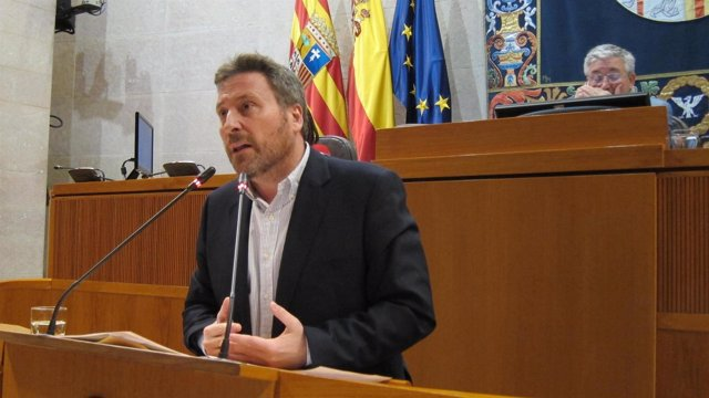 El consejero de Vertebración del Territorio, José Luis Soro