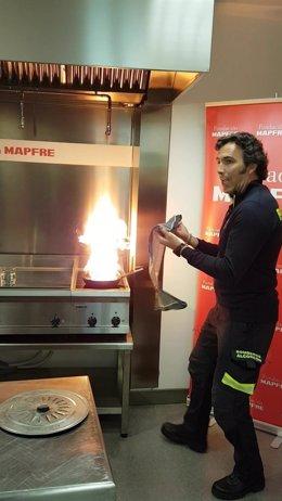 Fuego bombero
