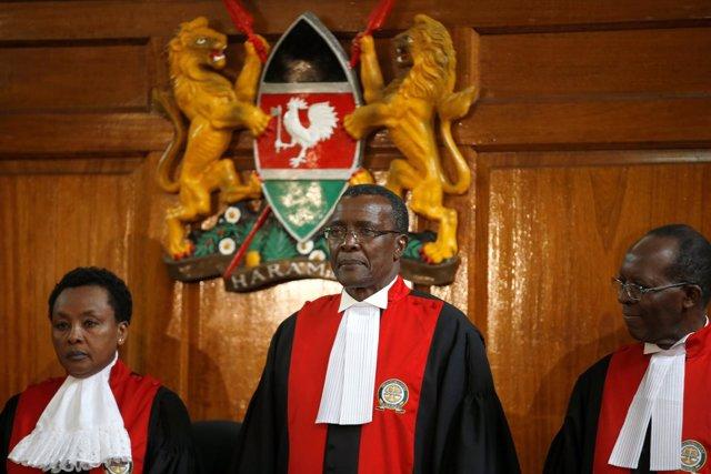 El presidente del Supremo de Kenia