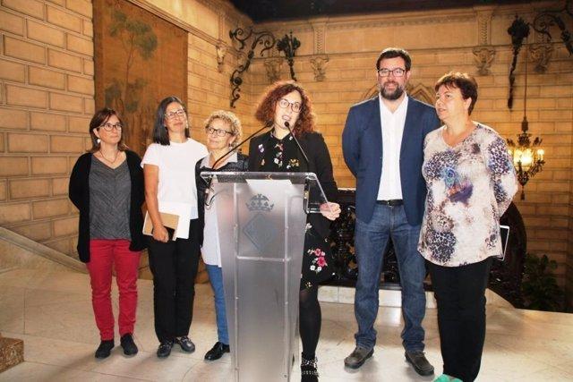 Noguera apoya a las AAVV de Palma