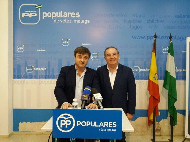 Avelino Barrionuevo y Francisco Delgado Vélez-Málaga