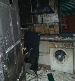 Incendio en una vivienda de Alhaurín de la Torre