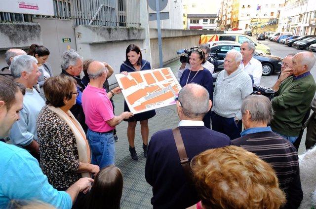 Presentación del proyecto para el tramo final de la calle Tres de Noviembre