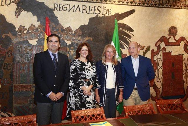 Cardeña, Del Cid, Muñoz convenio agua reciclada campos