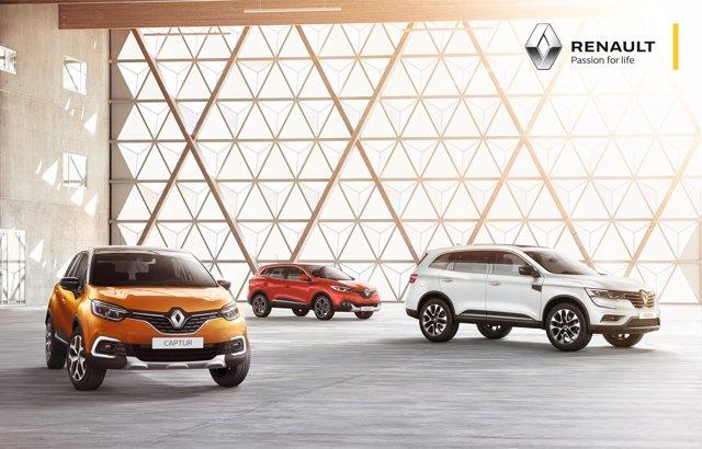 Gama todocamino de Renault