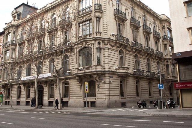 Sede del Colegio de Abogados de Madrid