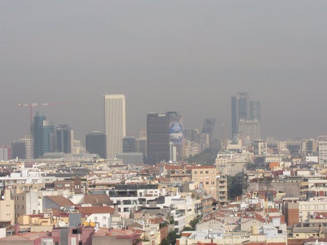 Contaminación Madrid
