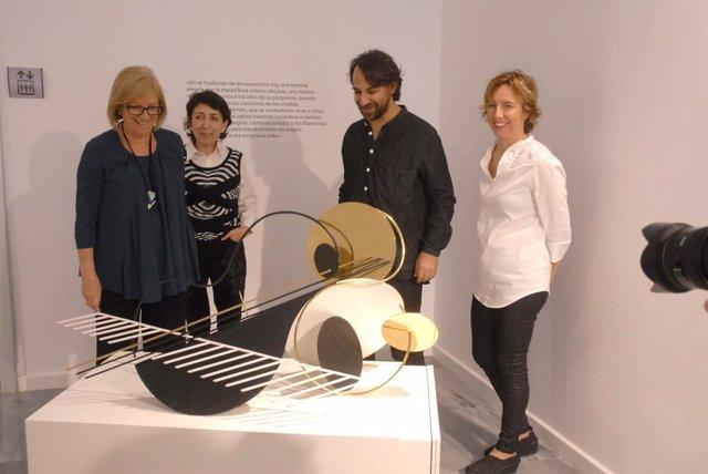 Presentación de la exposición de Andreu Alfaro sobre jazz