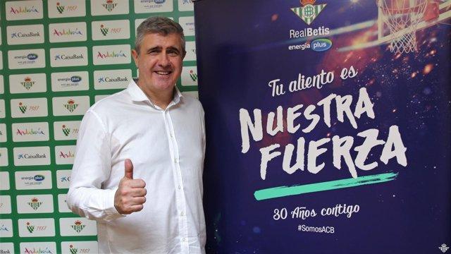 Óscar Quintana, nuevo entrenador del Betis Energía Plus