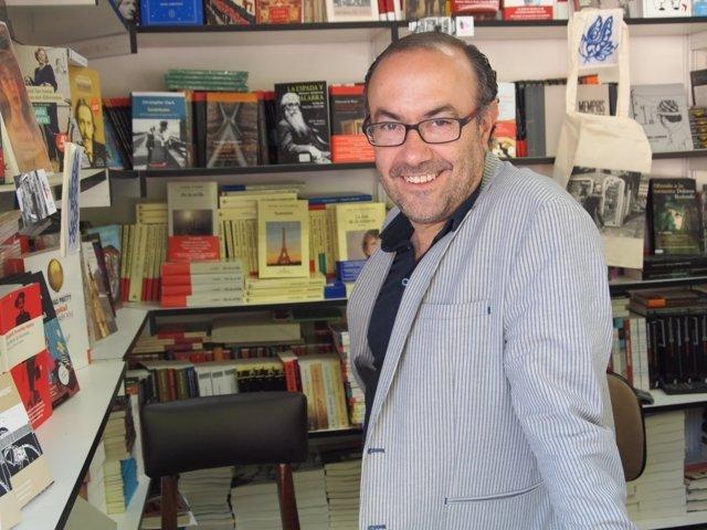 El periodista cultural Jesús Marchamalo