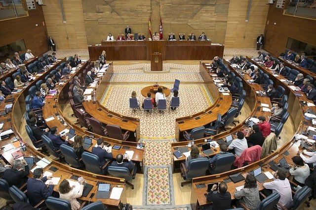 Pleno Asamblea de Madrid 2017