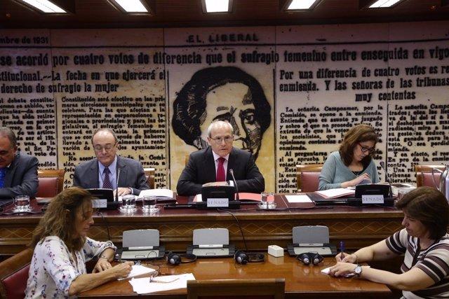 José Montilla, presidente de la Comisión de Presupuestos del Senado