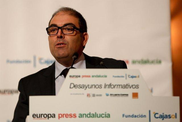 Lorenzo Amor, en los Desayunos de Europa Press Andalucía