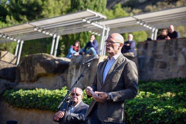 El conseller de Exteriores, Raül Romeva