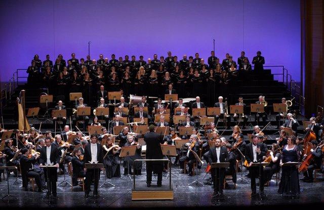 Concierto de la gala del 20 aniversario de la reapertura del Teatro Real