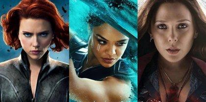 Las mujeres de Marvel luchan por una versión femenina de los Vengadores