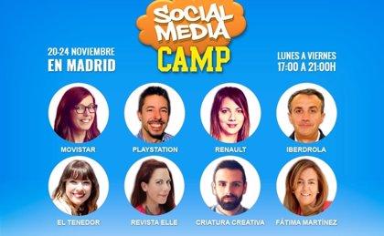 Social Media Camp: actualiza tu estrategia en redes sociales
