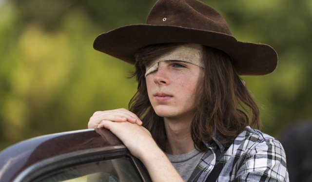 Chadler Riggs en 'The Walking Dead'