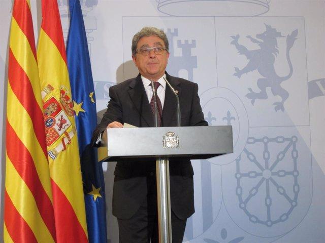 El delegado del Gobierno en Catalunya Enric Millo
