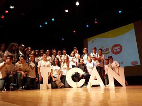 Alumnos del proyecto 'Sin límites'