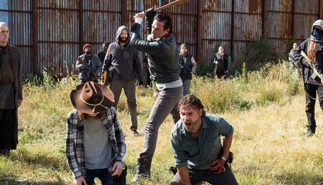 Rick Grimes y Negan en The Walking Dead