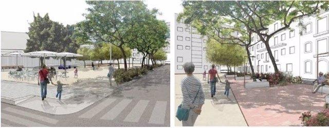 Proyecto de la nueva plaza Hilari Salvadó