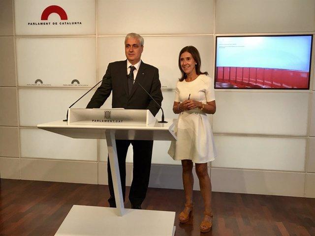 Germà Gordó y Teresa Pitarch, Nova Convergència