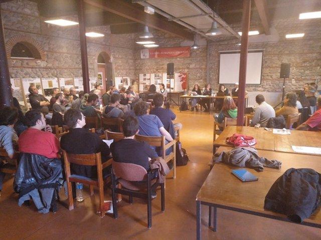 Consell Polític de la CUP en Perpignan